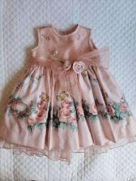 Vestido de festa 1 ano.