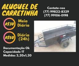 Aluguel de Reboque/Carretinha
