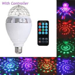 COD: 0070 Lâmpada Led Music Bulb Bluetooth Rgb giratoria