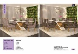 Mesa safira 8 cadeiras zap *