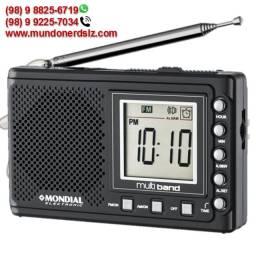 Rádio Portátil Mondial AM/FM Digital Multi Band II RP-04 em São Luís Ma