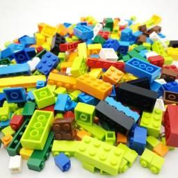 Lego 1500 Peças, Construa Helicóptero, Casa, Carros e Mais, Novo Tipo Lego