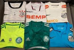 Vendo coleção camiseta clube