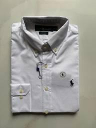 Camisa social branca Réveillon