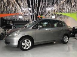 "Honda Fit LXL 1.4 2004 Cinza Completo Impecável Rodas Aro 14"""