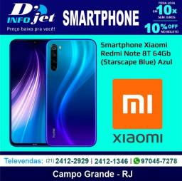 Smartphone Xiaomi Redmi Note 8T 64Gb (Starscape Blue) Azul - 210090