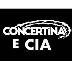 Concertina Dupla + já instalada me chama aqui