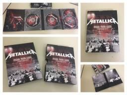 Box Metallica Original 2 Cds e 2 DVDs