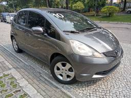 Honda Fit 2010 lxl 1.4 mec cinza completíssimo+rodas+revisado+novíssimo=0km!