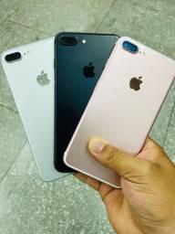 iPhone 7 Plus 32g seminovo impecáveis