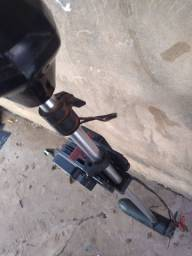 Motor de poupa elétrico 34lb