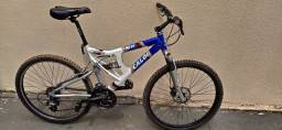 Bicicleta Caloi SK Full Suspension Aro 26, 24 marchas