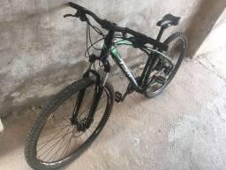 Bicicleta TSW - 27v - shimano alívio/acera - freio hidráulico