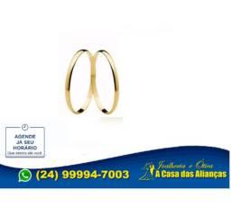 Alianças ouro 18 kilates Promoção 1 mm _390,00