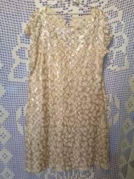 Vestido Dourado Predilect's
