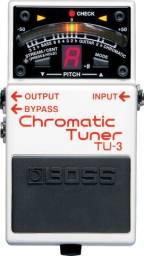 Afinador Cromatico Boss TU-3 Usado na caixa