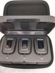 Microfone Lapela Saramonic Blink Pro B2 Novo Melhor preço do mercado ..