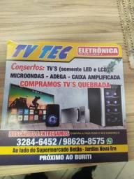Consertos de tvs e micro ondas próximo ao buriti shopping