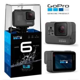 Câmera Digital Gopro Hero 6 Black 12mp 4k A Prova D'água