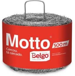 Arame Farpado Belgo Motto- 500m