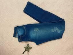 Calça jeans TAM 36 usada apenas 3 vezes!