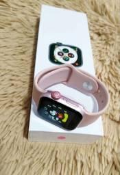 Promoção Smart Watch Iwo 12 SE Série 5 Faz Chamada 40mm Rose