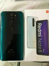 Xiaomi note 8 pro top 6 de ram 128 GB pra vender logo R$.1350