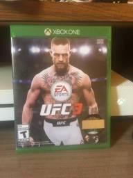 Jogo UFC3 Mídia física para Xbox one