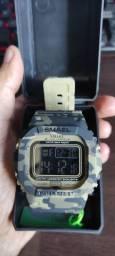 Relógio SMAEL original camuflado INCRÍVEL