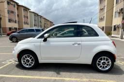 Fiat 500 cult 1.4 dual 2014 com teto solar o mais novo o mais top da cidade