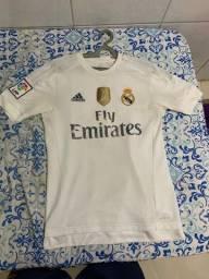 Camisa real Madrid branca original