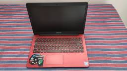 Notebook POSITIVO - Vermelho