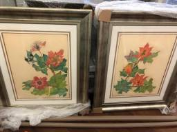 Dois quadros Sandra Dardari 1,04 x 0,85