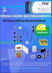 Instalação de Cerca Elétrica com Alarme.
