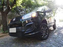 !!! ApEnAs 55.000 Km !!! Fiat Uno Attractive 1.0 Flex! C/ Ar Condicionado + Direção! Novo!