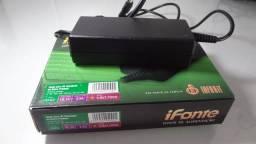 Fonte Para Notebook Hp 65w 18.5v 3.5a 4.8x1.7mm H-02