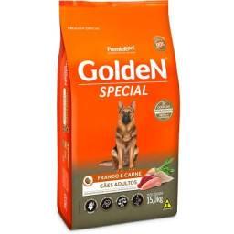 Título do anúncio: Ração Golden Special para cães adultos Frango e Carne