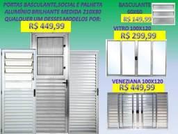portas e janelas novas completas com preço de fabrica recebemos na entrega