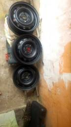 3 roda GM aro 13 pintadas 100 reais