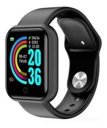 Título do anúncio: Relógio Digital D20 coloca foto, recebe mensagem whatsapp, chamadas ...