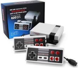 Título do anúncio: Console Super Mini Video Game Retro 620 Jogos Classicos Nes nintendinho