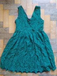 Título do anúncio: Vestido Zara verde