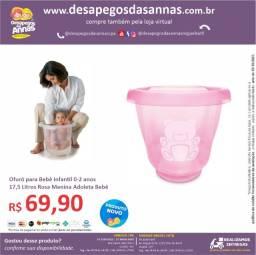 Título do anúncio: Ofurô para Bebê Infantil 0-2 anos 17,5 Litros Azul Rosa Menino Menina Adoleta Bebê