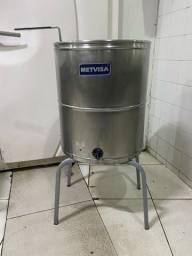 Fritadeira Metvisa água e óleo 27 litros