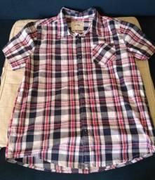 Vendo blusa quadriculada
