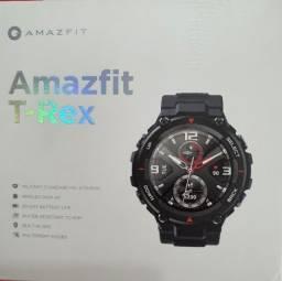Título do anúncio: Relógio Smartwatch Xiaomi Amazfit T-Rex Novíssimo,Tela Amoled, Resist. água, Abaixo Preço!