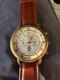 Relógio patek Philippe imitação a corda