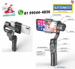 3-axis Handheld Smartphone Gimbal Estabilizador P/ iPhone X só zap