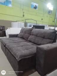 sofá retrátil luxo em oferta