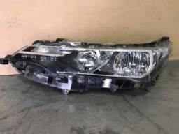Farol Esquerdo Toyota Corolla De 2017 A 2019 Recuperado Pé